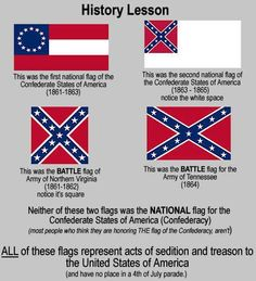 """history lesson on the """"Confederate flag"""""""