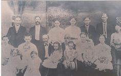 Hinely, And Freyermuth Group Family Picture 1900