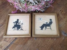 Vintage Pair of Buzza Company Craftacres Silhouettes by RobinsAntiques, $16.00