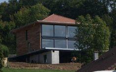 """Résultat de recherche d'images pour """"maison ossature métallique bois"""""""