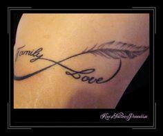 letter met veer tattoo - Google zoeken