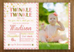 PRINTABLE Twinkle Birthday Invitation Any by 3littlebirdsprints