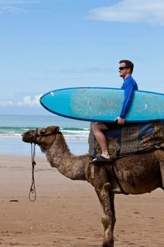 Not a bad way to get to the surf! #travel
