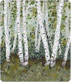 birch grove by beccastadtlander on Etsy, $25.00
