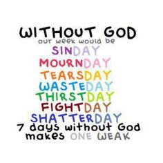 Without God ...