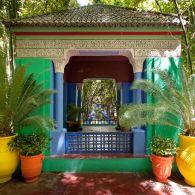Jardin Marjorelle in Marrakech, by couturier Yves Saint Laurent