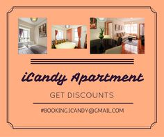Looking for an eye-catching accommodation that will surely suite your quality standard? This luxury apartment offers everything you'd expect in a resident of fashionable Central/ Sheung Wan.  Grab it now to get negotiable DISCOUNT!   Just drop a message to booking.iCandy@gmail.com