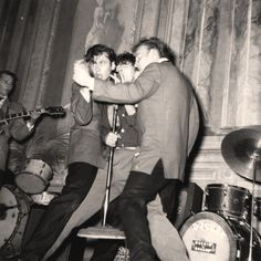 Gene Vincent and his Blue Caps, 1957.