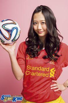 Photo: Junmaru Sayama (STUDIO SAYAMA)/ Styling: Kaname Terakubo / Hair&Make: Sachiko Hori ▼24Apr2014サッカーキング|古畑奈和「サッカー部の走っている姿を見て、いつも『すごい体力だな』って♪」 http://www.soccer-king.jp/bijotoshukyu/article/184419.html #古畑奈和 #Nao_Furuhata #SKE48