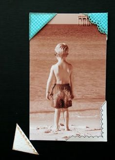 Susan Goetter: A Perfect Photo Corner - Every Time!    DIY Photo Corners for storing business cards