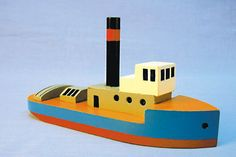 Wood Tug Boat