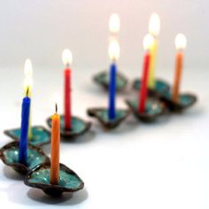 ceramic menorah tiny houses hanukkah menorah hanukkah by ednapio