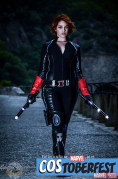 Costoberfest 2015: Sara as Black Widow
