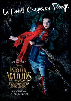 Little Red Riding Hood is one of the six tritagonists from the film Into the Woods and is portrayed by Lilla Crawford. Film Disney, Disney Movies, Pixar Movies, Meryl Streep, Johnny Depp, Movies Showing, Movies And Tv Shows, Lilla Crawford, Em Breve Nos Cinemas