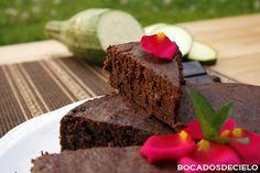 Cake de chocolate y calabacín (S.G.)