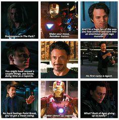 The Avengers....Tony Stark, Iron Man