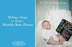 {Advice} 10 Easy Steps to Better Monthly Baby Photos