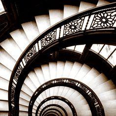 Spiral Staircase - Trowbridge Gallery