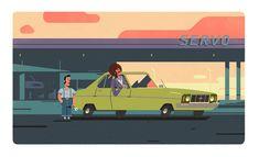 MC DONALDS - Colin Bigelow Illustration, Movie Posters, Movies, Inspirational, Design, Art, Art Background, Film Poster, Films