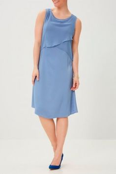 Vestido lactancia Colony Blue