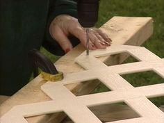 lattice wall for under deck