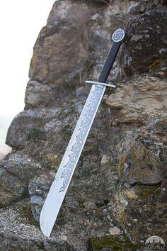 "Medieval Falchion ""Hound Of War"""