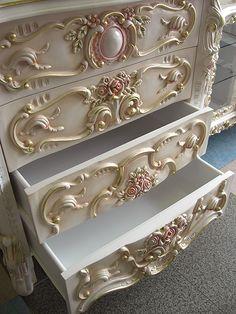 Rococo Dresser. Interior furniture