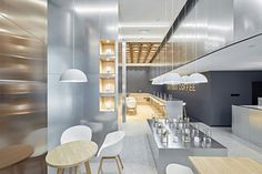 Greybox Coffee Café by Drawing Design Studio Chengdu  China