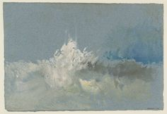 Joseph Mallord William Turner 'The Breaking Wave', ?c.1832
