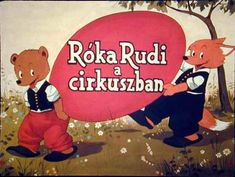 Róka Rudi a cirkuszban Film Strip, Preschool, Family Guy, Animation, Album, Learning, Fictional Characters, Art, Filmstrip