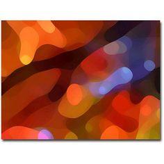 Trademark Fine Art Fall Light Canvas Wall Art by Amy Vangsvard, Size: 18 x 24, Multicolor
