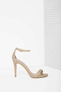 Gold heel Glitter Heels, Gold Heels, Lace Up Heels, Suede Heels, High Heels, Fab Shoes, Me Too Shoes, Shoes Heels, Steve Madden Stecy