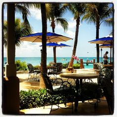 my absolute FAVE restaurant and setting...Latitudes on Sunset Key, Key West
