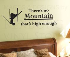 ski quote for wall - Google Search