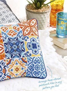 Thrilling Designing Your Own Cross Stitch Embroidery Patterns Ideas. Exhilarating Designing Your Own Cross Stitch Embroidery Patterns Ideas. Simple Cross Stitch, Cross Stitch Rose, Diy Embroidery, Cross Stitch Embroidery, Cross Stitch Designs, Cross Stitch Patterns, Patchwork Tiles, Cross Stitch Cushion, Palestinian Embroidery