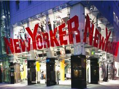 New Yorker - Bayreuth, Germany - Saskia's favourite fashion chain in Germany