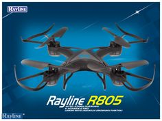 RC Quadrocopter Rayline R805 2.4 GHz 4-Kanal 6-Achsen Drohne