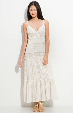 Eliza J Lace Maxi Dress available at Nordstrom