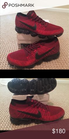 brand new 301af 467bf Nike Vapor Max Dark Team Red Size 11 Nike Vapor Max Dark Team Red Size 11