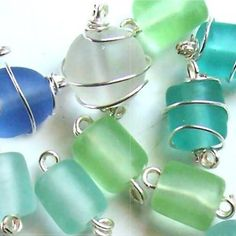A Quick How To Wire Wrap a Glass Bead video tutorial