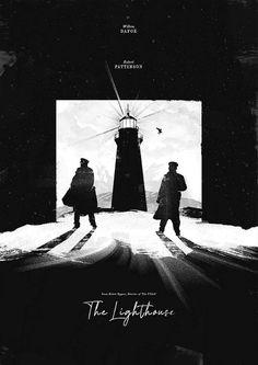 The Lighthouse Directed by Robert Eggers Starring Willem Dafoe, Robert Pattinson Best Movie Posters, Horror Movie Posters, Cinema Posters, Movie Poster Art, Film Posters, Horror Movies, Hero Poster, Poster Ads, Lighthouse Movie