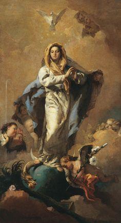 Giovanni Battista Tiepolo, <i>l'Immaculée Conception</i>