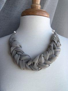 GraceHelene textile jewelry