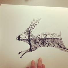 Pick me up rabbit - rabbitportal, Matt Saunders