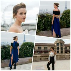 As lindas inspirações da Emma Watson em sua trajetória de eventos Beauty and the Beast.⭐ #beautiful #emmawatson #fashion #inspirations #beautyandthebeast #presstour