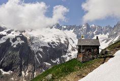 150 Jahre Schweizer Alpen-Club: Berghütten modern, uralt