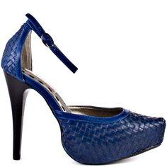 Priceless heels Blue brand heels 2 Lips Too