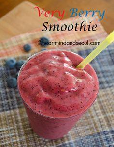 Recipe: Very Berry Smoothie