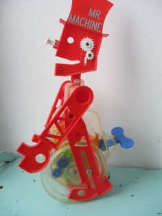 Image detail for -Vintage Mr Machine Robot Wind Up Toy 1960's by bigfishlilpond