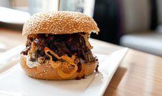 The Stack Brisket Sandwich ($10) at Stack Restaurant (3265 Yonge Street)